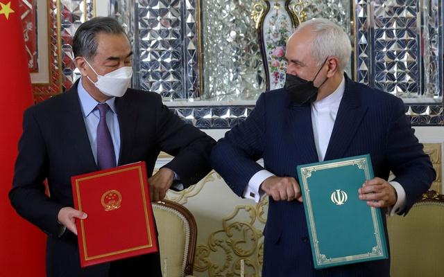 zarif-wang-iran-china